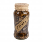 Russian Kedrovy Bor Marinated Mushrooms in Jar. 535gm.