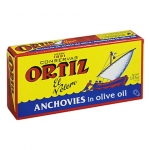 Ortiz Anchovies In Oil. 47.5gm.