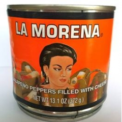 La Morena Jalapeño Peppers Filled with Cheese 380gm.
