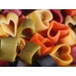 I Due Pastori Cuoricini Multicoloured Heart Pasta 250gm.