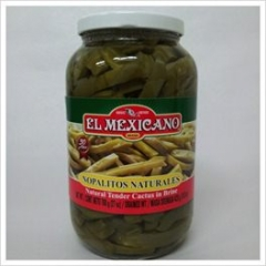 Mexican Cactus (Nopal) in Brine. 760gm.