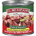 El Mexicano Chipotles In Adobo Sauce. 1.5kg.
