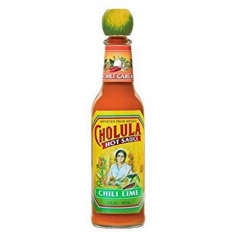 Cholula Chili Lime Hot Sauce. 120ml.
