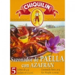 Chiquilin Spanish Paella Seasoning with Saffron. 20gm.