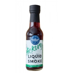 Adventure Kitchen Hickory Liquid Smoke. 150ml. ALL NATURAL.