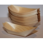 Disposable Bamboo Boats 140mm. x 75mm. x 50pce.