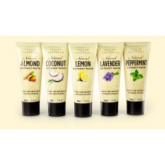 Taylor & Colledge Extract Pastes. 40gm. Lavender, Almond, Peppermint, Lemon or Coconut.