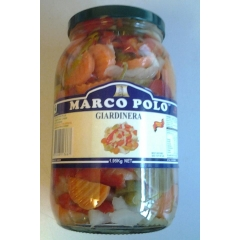 Greek Giardinera Pickled Vegetables. 1.95kg.