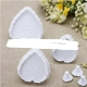 Heart-Shaped Fondant/Biscuit Plunger Cutter Set