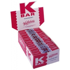 K Bars Bulk Counter Display 48 - Whittaker's
