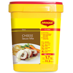 Maggi Classic Cheese Sauce Mix. 1.7kg.
