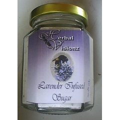 NZ Lavender Sugar. 90gm.