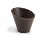 Dobla Pisa cups dark chocolate 49mm box 105