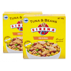 Sustainable Sirena Tuna & Beans 185gm.