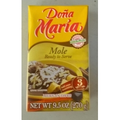 Dona Maria Mexican Mole Sauce. Ready To Use! 270gm.