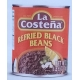 La Costena Mexican Refried Black Beans 3kg.