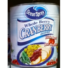 Ocean Spray Whole Berry Cranberry Sauce. 3.32kg.