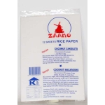 Zaano Rice Paper (Pack of 12 sheets)