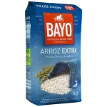 Arroz Bayo Rice For Paella 1kg. 6/16