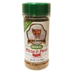 Chef Paul Prudhomme Magic Seasoning Blends Herbal Pizza and Pasta. 85gm. Gluten free.