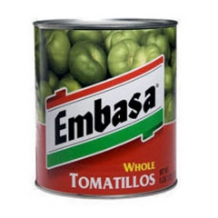 Embasa Whole Tomatillos. 340gm.