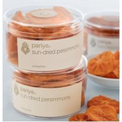 Pariya Sun-dried Persimmons. 100gm.