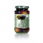 Iliada Greek Organic Mixed Olives. 370gm.
