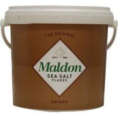 Maldon Smoked Salt. Bulk Foodservice Pack. 500gm.