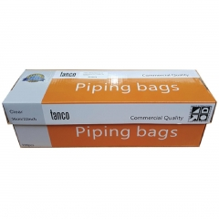 Tanco Disposable Clear Piping Bags. 56cm. 100