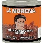 La Morena Chipotle Peppers in Adobo Sauce 100gm.